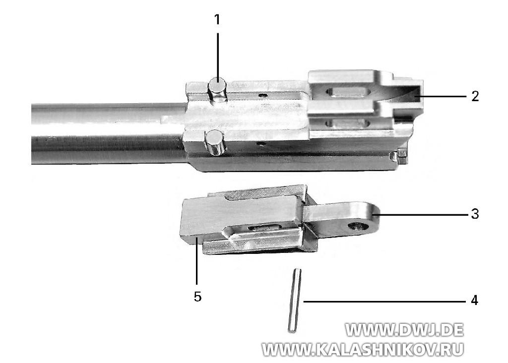 Пистолет SIG Р211. Ролики затвора