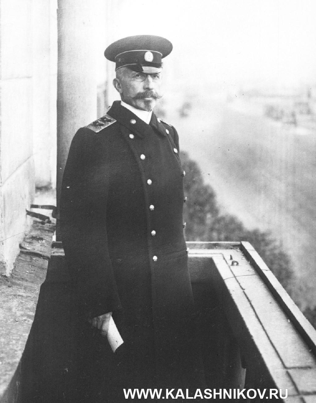Вице-адмирал А. И. Русин