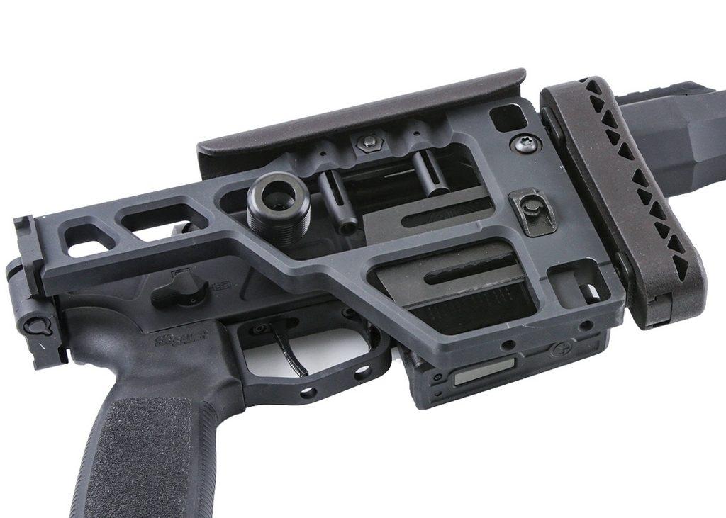 складывающийся приклад, винтовка, SIG