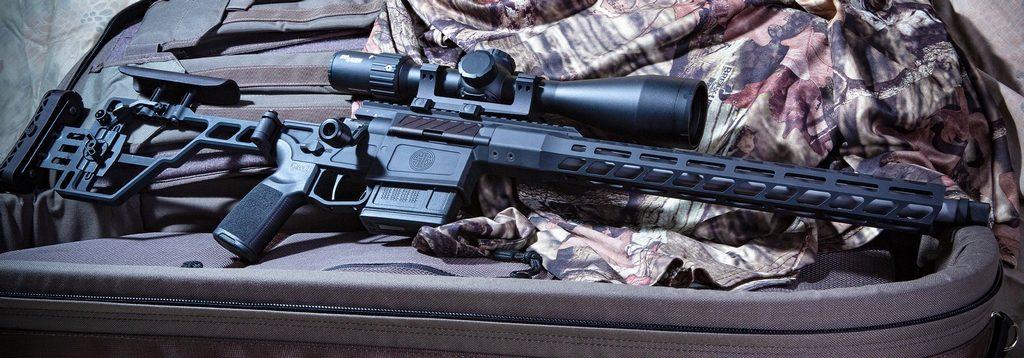 SIG Sauer CROSS, высокоточная винтовка, охота