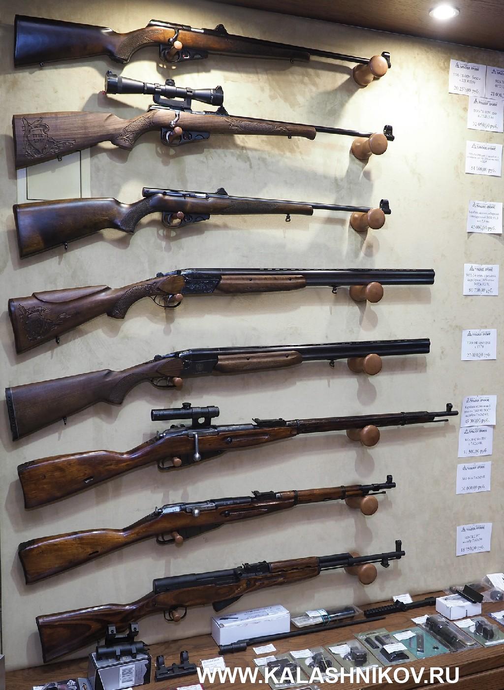 Оружейный магазин Тульского оружейного завода. Фото 3