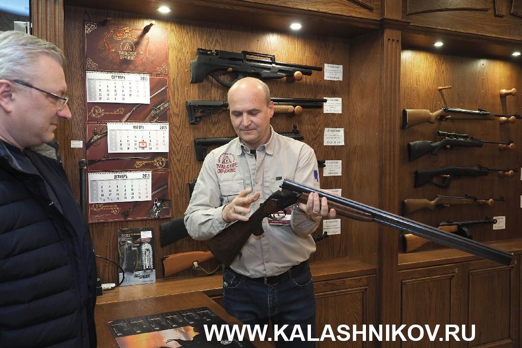 Оружейный магазин Тульского оружейного завода. Фото 1