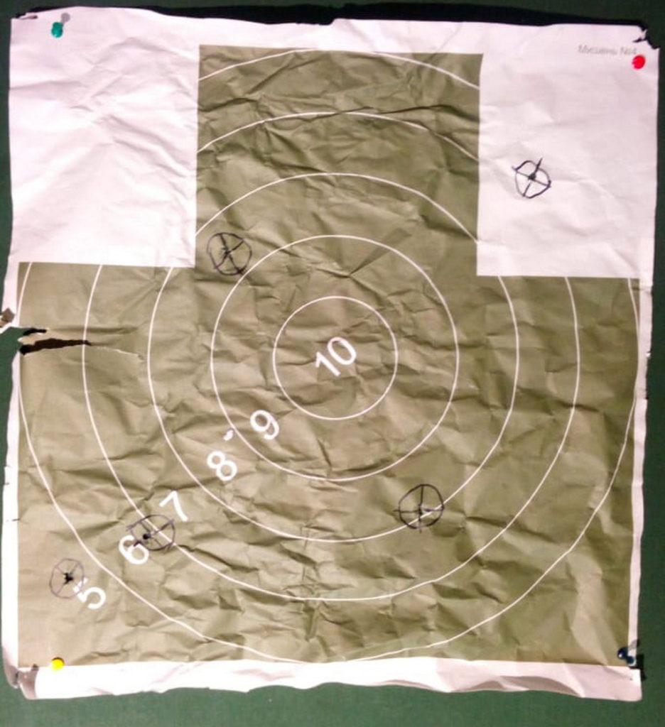 мишень, СВЛК-14, .408 Chey Tac, Dedal-490-DK3, 2000 м
