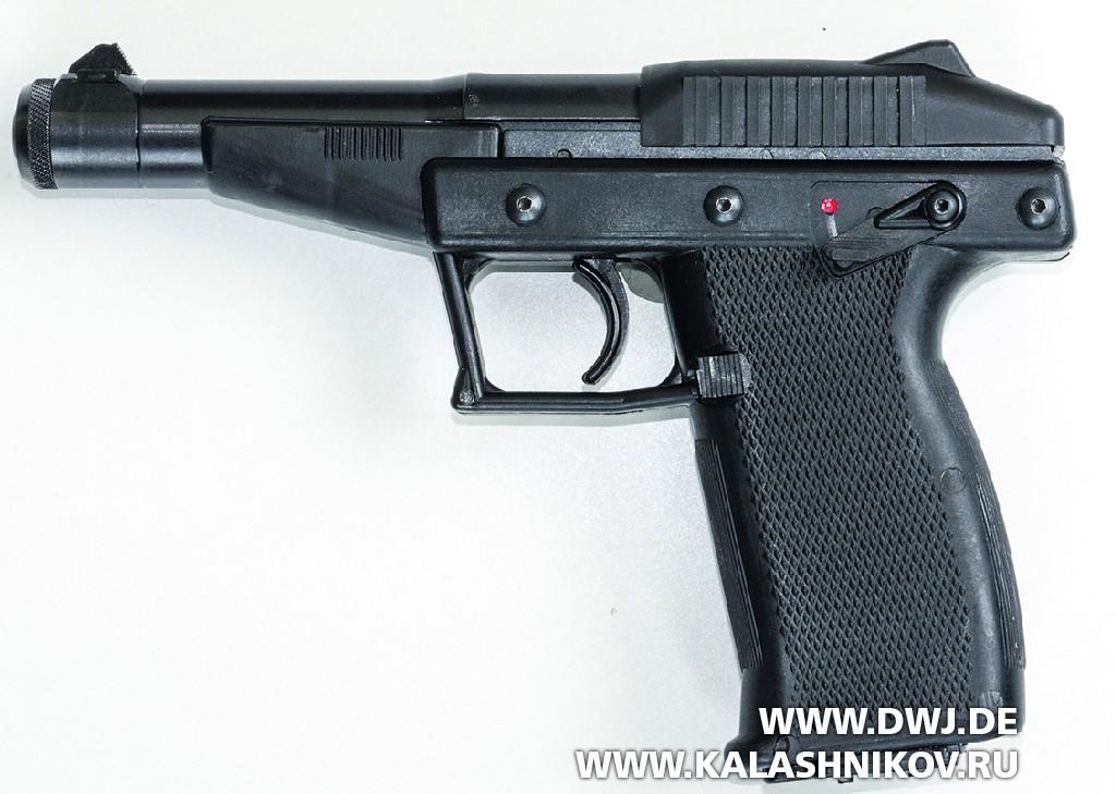 Пистолет Grendel Р-30. Вид слева