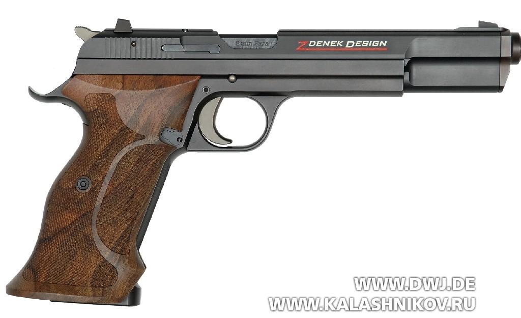 Пистолет SIG Р211. Вид справа