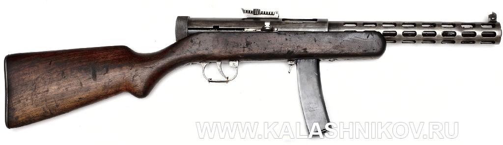 Пистолет-пулемёт конструкции Дегтярёва ППД-34 (из фондов ВИМАИВиВС)