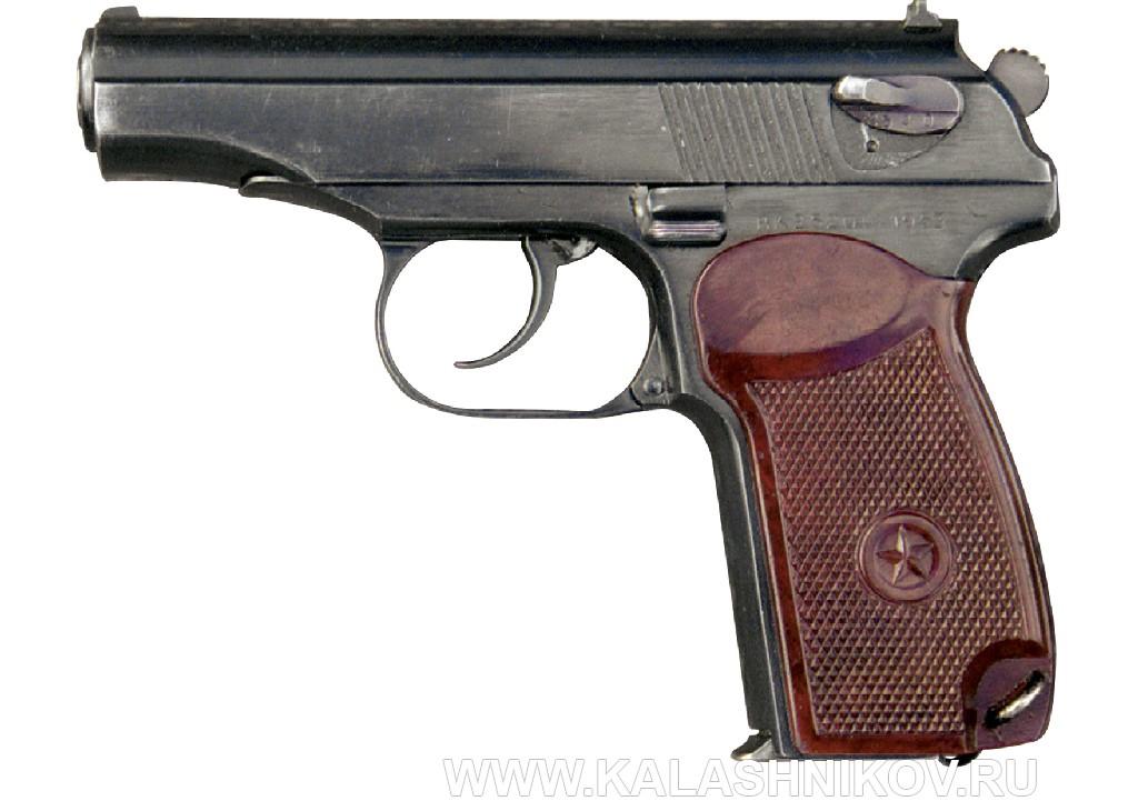 Пистолет Макарова, общий вид 2