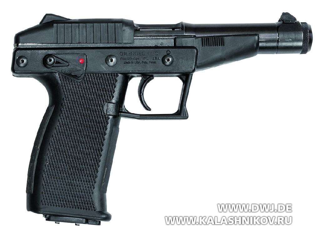 Пистолет Grendel Р-30. Вид справа