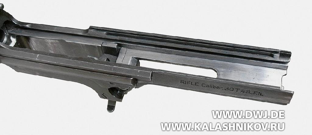 Ствольная коробка винтовки Т48 изготовления фирмы FN