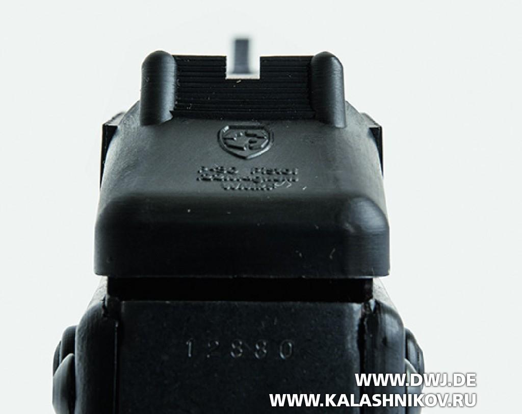 Пистолет Grendel Р-30. Целик