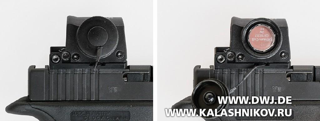 Коллиматорный прицел Steiner Micro Reflex Sight (MRS). Фото 2