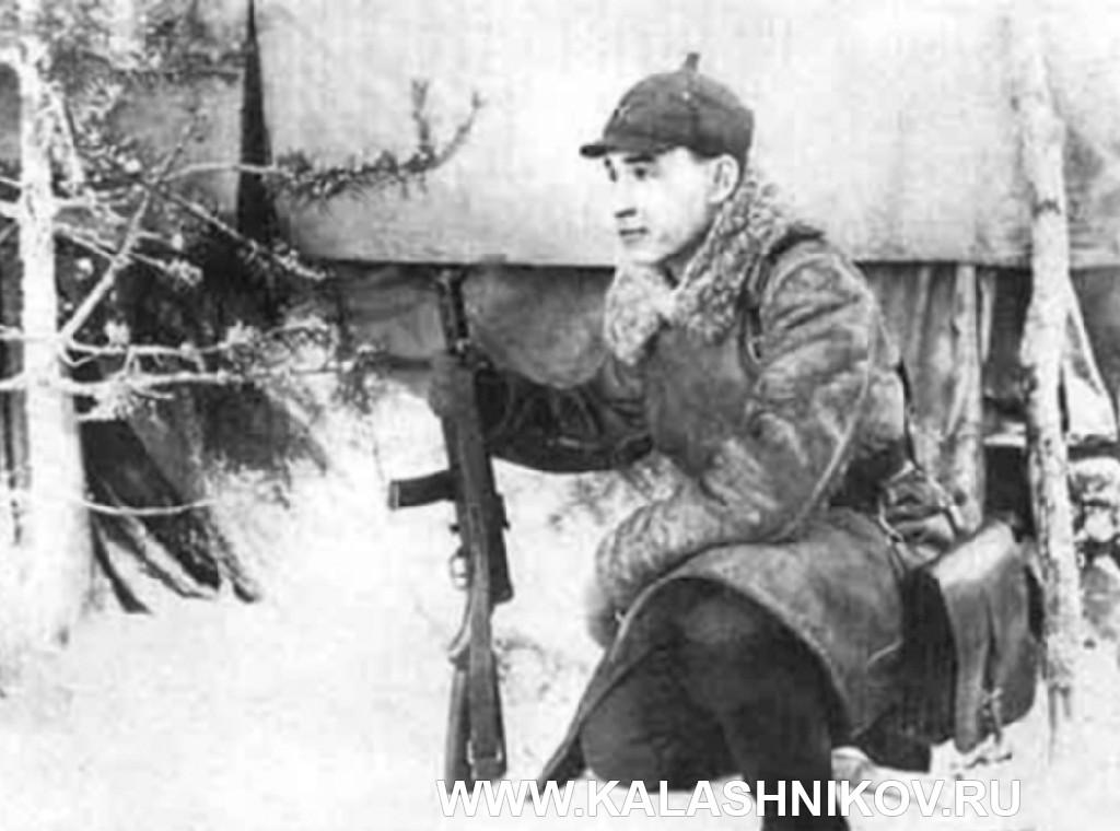 Пистолет-пулемёт конструкции Дегтярёва ППД-34. Фото 2