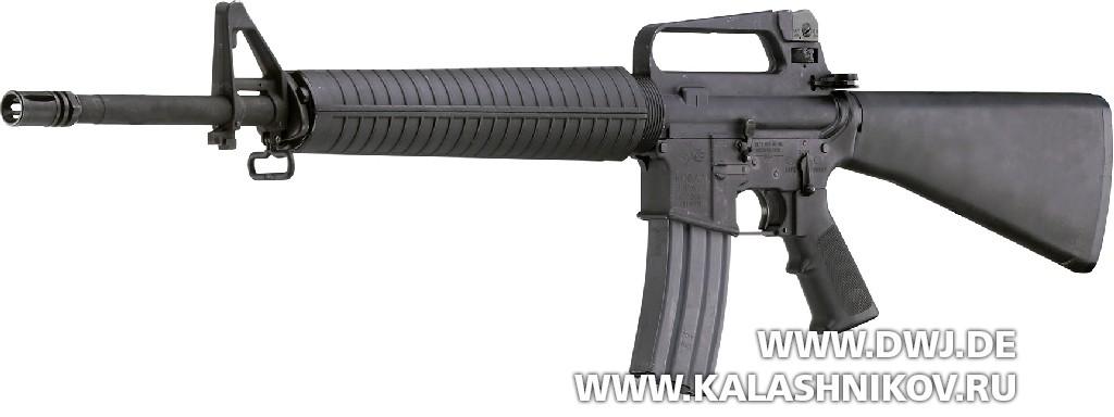 штурмовая винтовка М16А2