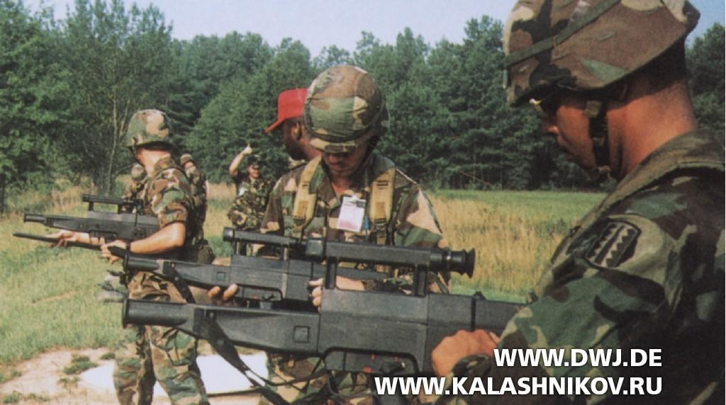 Полевые испытания ACR - замена магазина винтовки G11 ACR Rifle