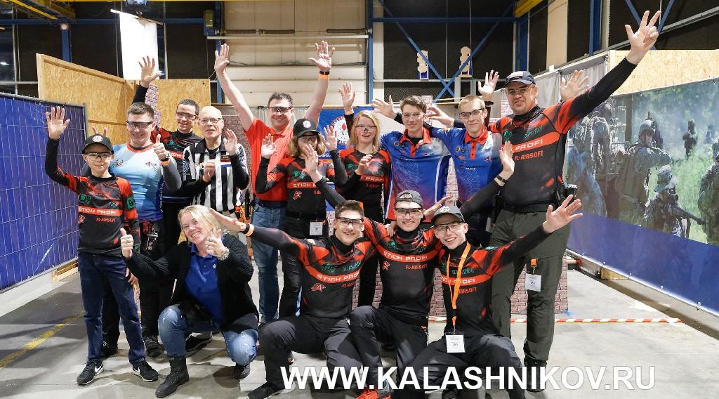 российская делегация Action Air на Dutch Open 2019