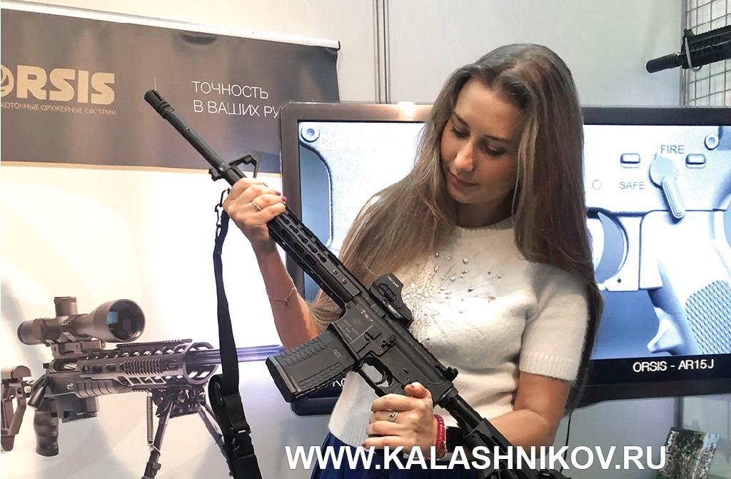 Полуавтоматический карабин ORSIS-AR15J. навыставке «Оружие и охота 2019»