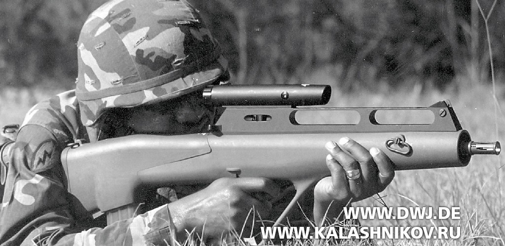 Винтовка Steyr ACR подстреловидный патрон
