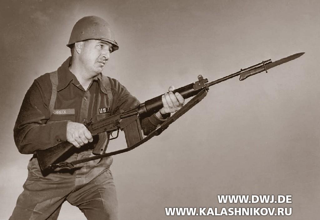 Испытания винтовки Т48. Фото 1