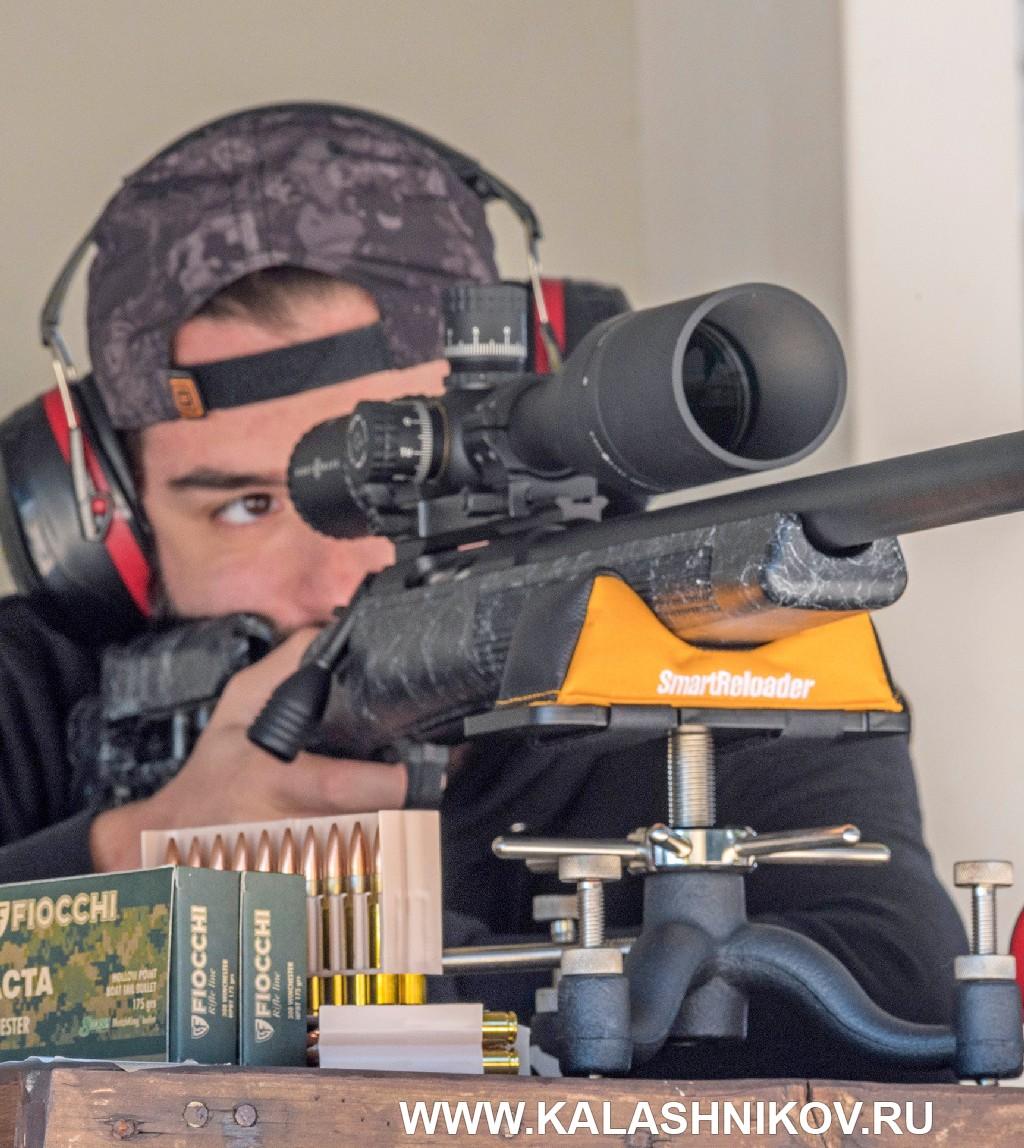 Стрельба из винтовки Sabatti Tactical Evo. Фото 3