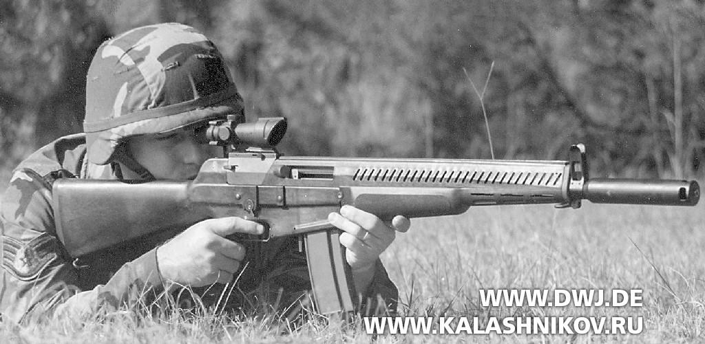 Винтовка AAI ACR подстреловидный патрон 5,56х45
