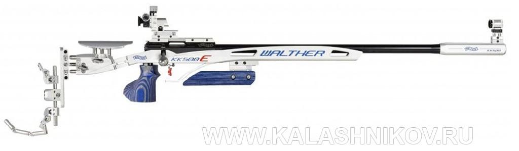 малокалиберная винтовка WaltherКК-500, вид справа