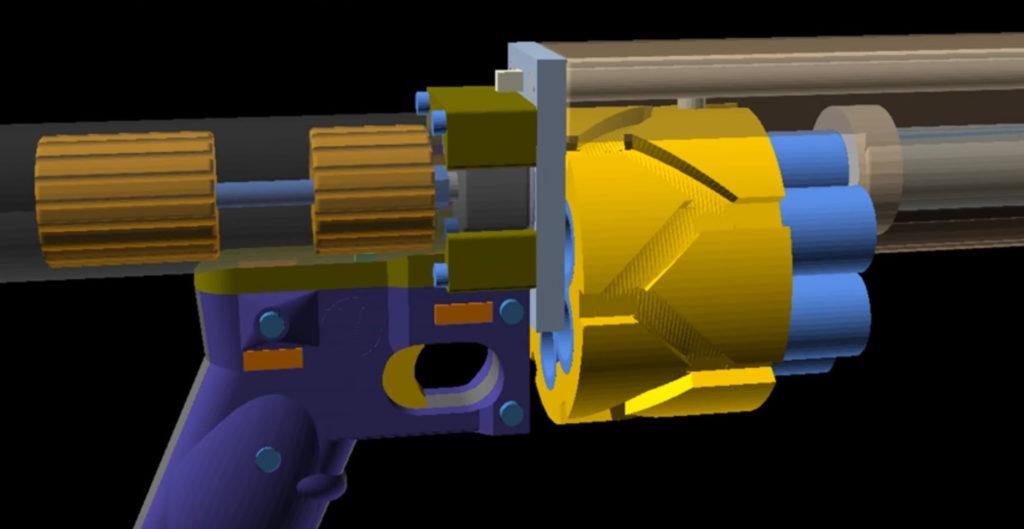 Liberator 12k, 3d printer, 3d принтер, оружие, ружьё