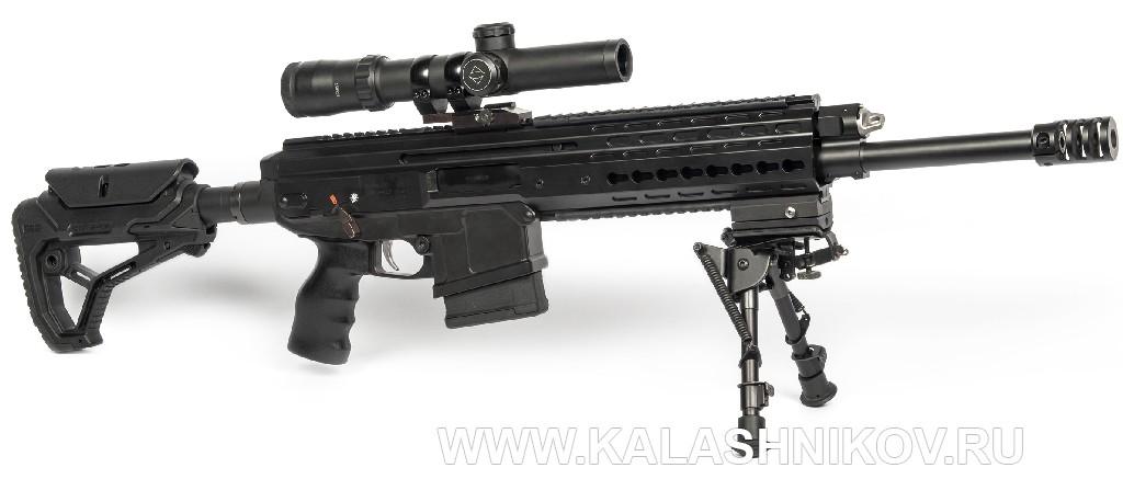 самозарядный карабин ORSIS-К15М калибра .308 Win. (7,62х51)