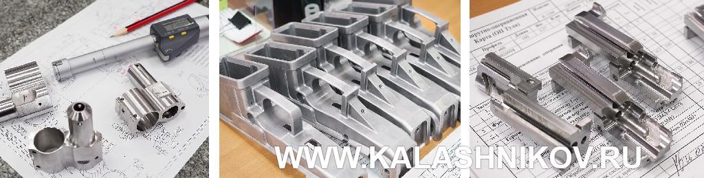 Карабин ORSIS-К15 калибра .308 Win. (7,62х51), фото с производства