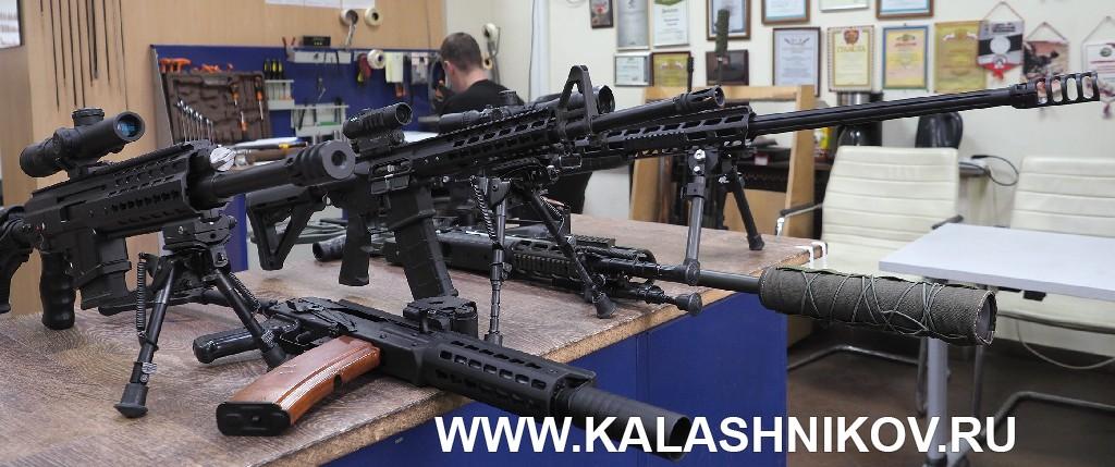 самозарядный карабин ORSIS-К15М калибра .308 Win.
