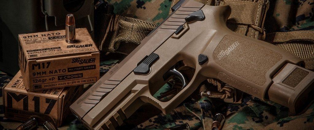 Пистолет M18