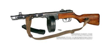пистолет пулемёт шпагина ппш 41
