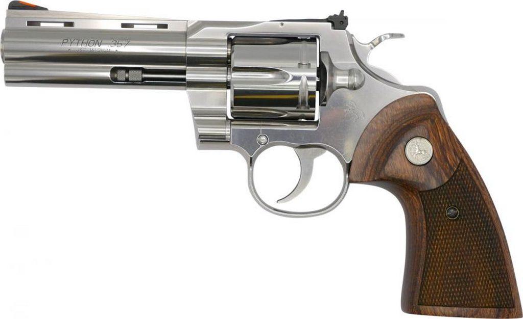 Colt Python, револьвер