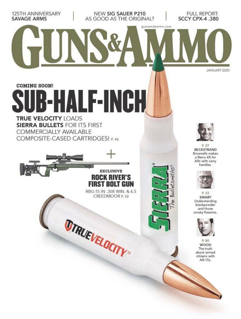 TrueVelocity, Guns & Ammo, новый номер, Sierra, пуля