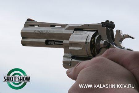 shot show 2020, range day 2020, револьвер, питон, colt piton