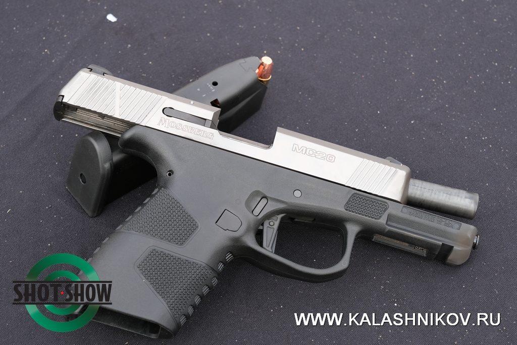 shot show 2020, pistol, range day 2020, Mossberg MC2c, пистолет