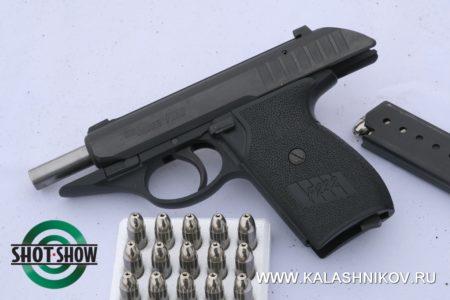 SIG Sauer P232, компактный пистолет, плавный спуск курка, 9х17, shot show 2020, range day 2020, стрелковый день