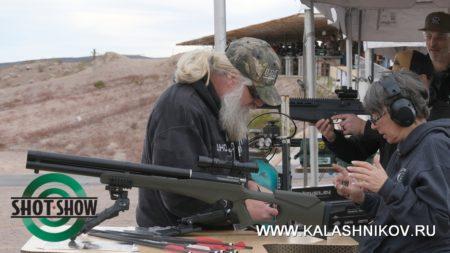 airgun, Airsaber, arrow, shot show 2020, range day 2020, пневматическая винтовка, рср-пневматика, стрела, оружейная выставка