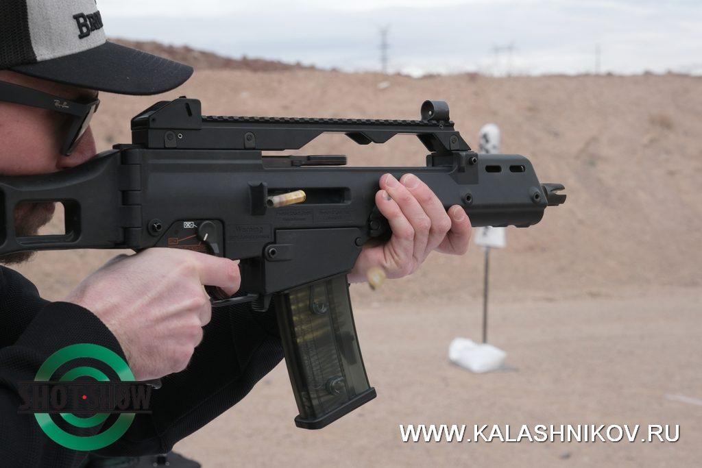 HK G36C, shot show 2020, range day, стрелковый день, хеклер и кох, стрельба очередями