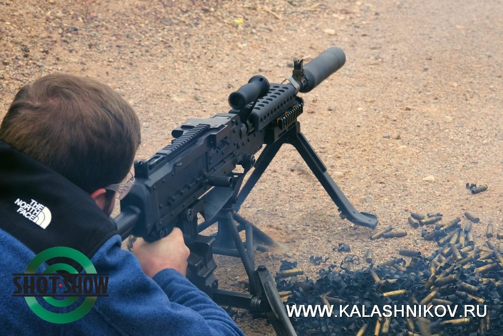 m240, machine gun, shot show 2020, range day 2020, пулемёт, стрельба, 7,62х51