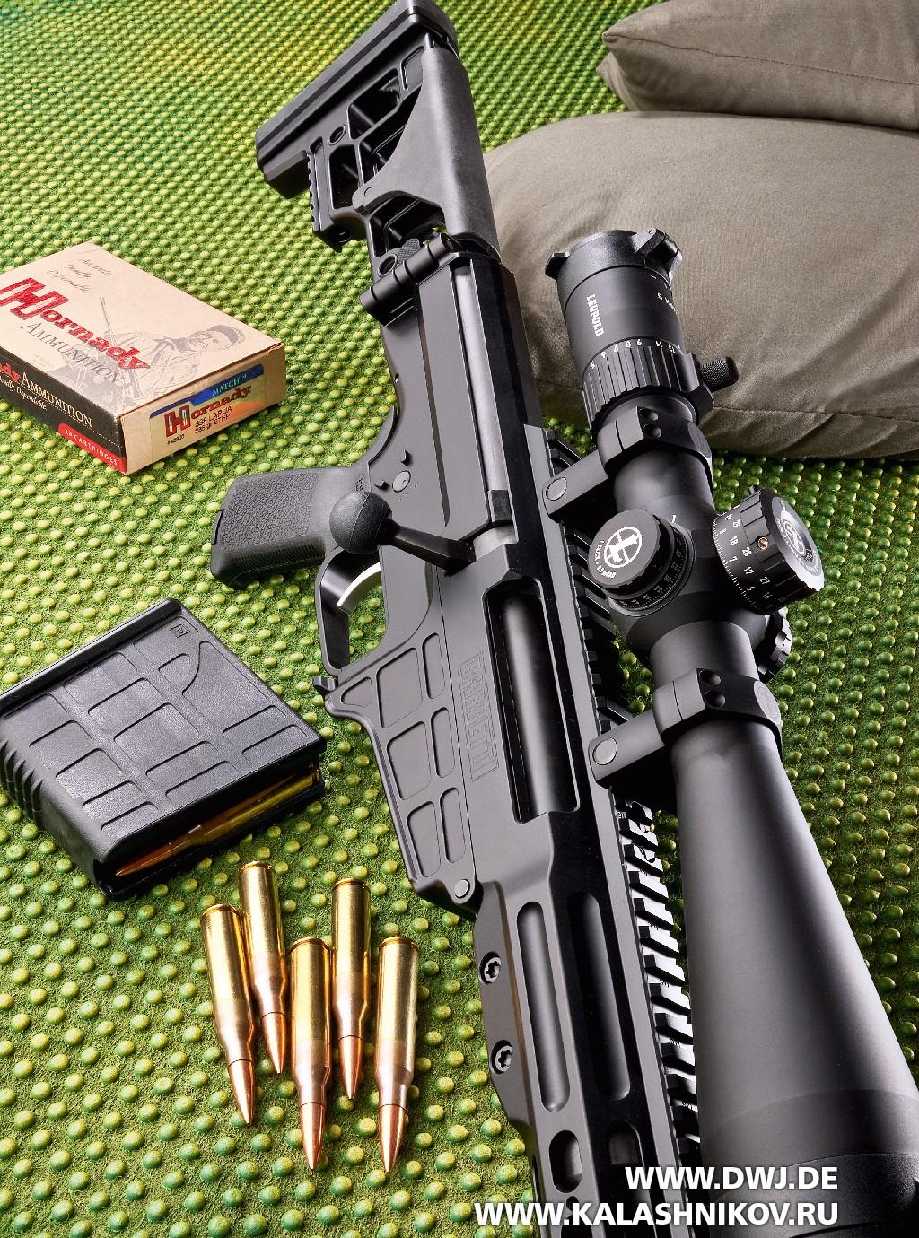 Тактическая винтовка Barrett MRAD с патронами