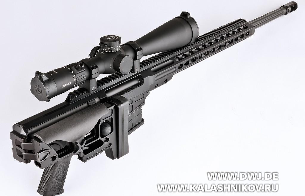 Тактическая винтовка Barrett MRAD. Со сложенным прикладом