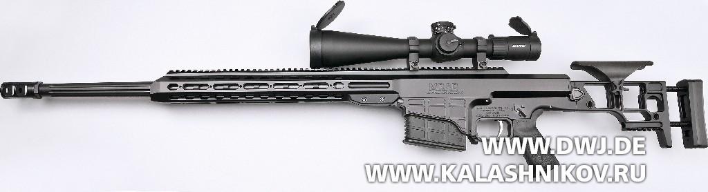 Тактическая винтовка Barrett MRAD. Вид слева