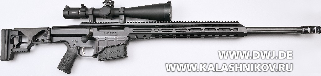 Тактическая винтовка Barrett MRAD. Вид справа