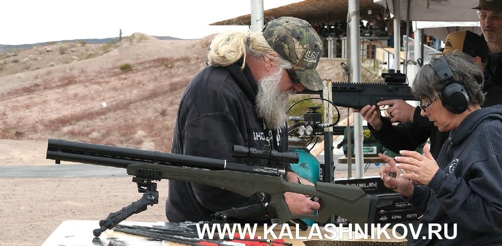 Стрелковый день выставки SHOT Show 2020. Фото 6. Пневматическая винтовка Umarex UX Airsaber Combo