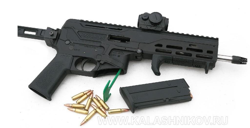 Стрелковый день выставки SHOT Show 2020. Фото 20. Пистолет-карабин Diamond Firearms DBX