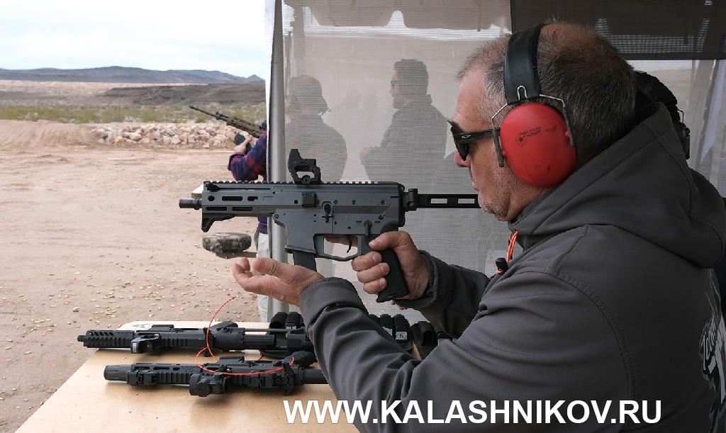 Стрелковый день выставки SHOT Show 2020. Фото 17. пистолет-карабин Angstadt MDP-9