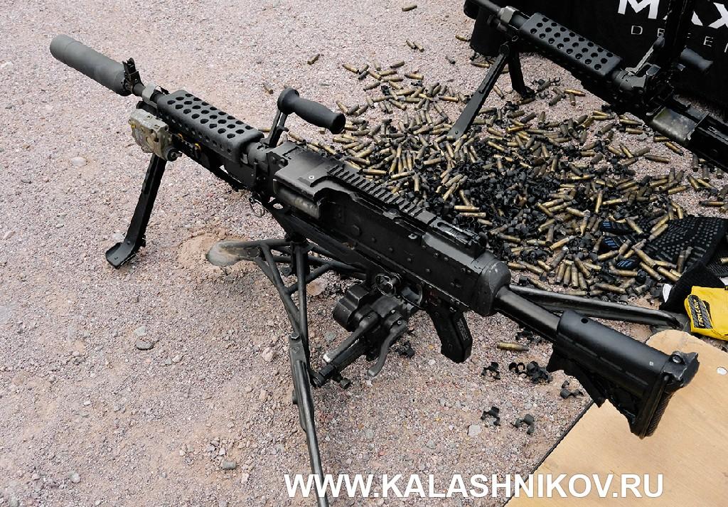 Стрелковый день выставки SHOT Show 2020. Фото 11. пулемёт M240