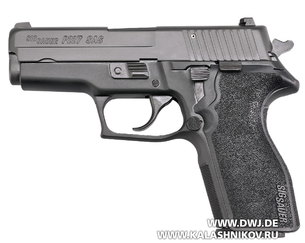 ПистолетSIG Sauer P227 SAS. Вид слева