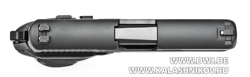 ПистолетSIG Sauer P227 SAS. Вид сверху