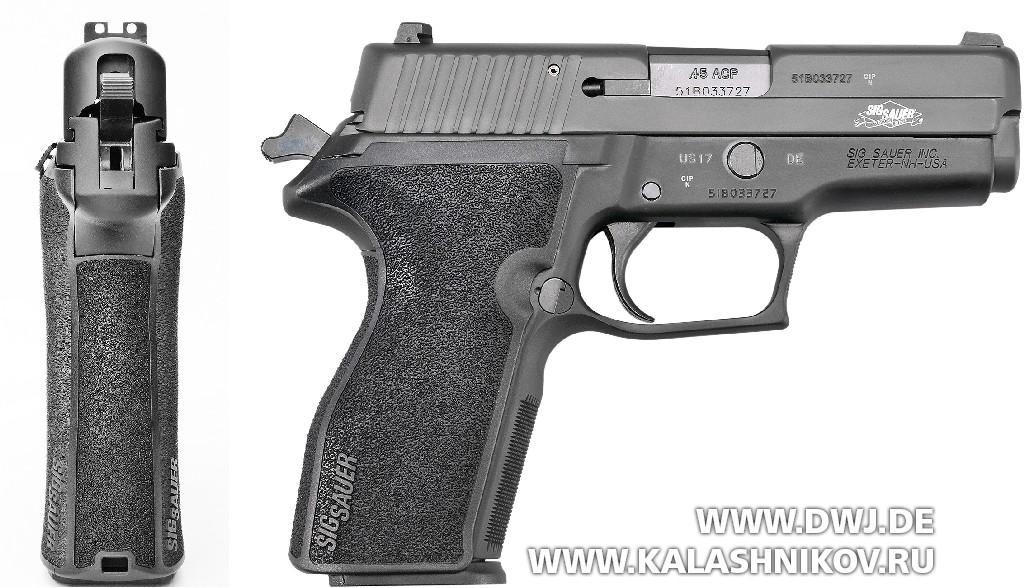 ПистолетSIG Sauer P227 SAS. Вид справа